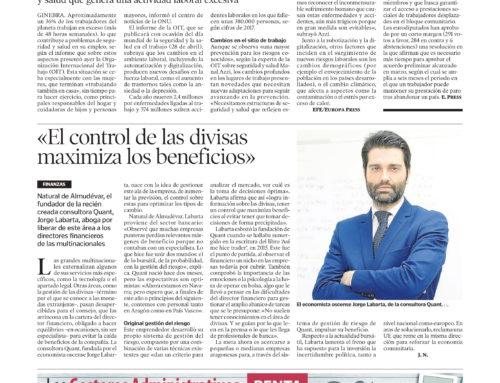 """Reportaje que nos hace el """"Heraldo de Aragón"""""""